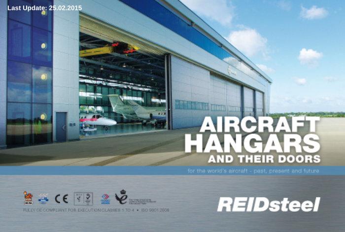 REIDsteel - Aircraft Hangars and their Doors_Cover25022015