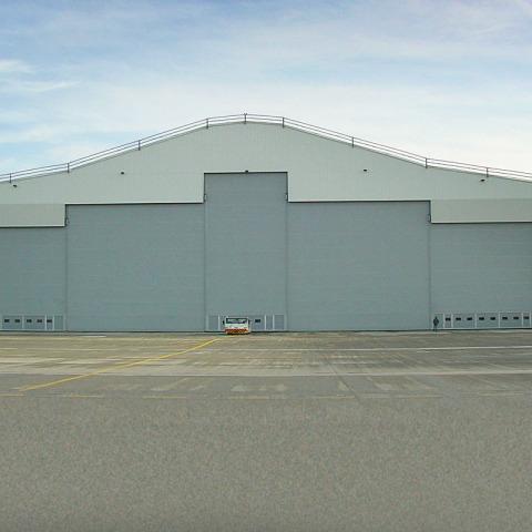 RS 6129 Hangar - UPS Shannon Fabric Door D00028 - Hangar Brochure