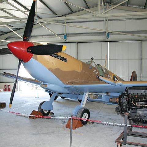 RS 6691 Hangar - Museum Malta IMG_1612 - Hangar Brochure
